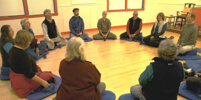 Mindfulness in Action: Group Meditation and Book Study